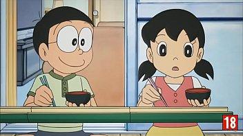 18 โนบิ โนบิตะ โดจินโดราเอมอน เย็ดครั้งแรก เย็ด